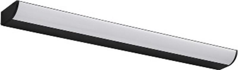 ACA Φωτιστικό Οροφής Αλουμίνιο 'Klara' Μαύρο LED 780Lm/3000Κ 57Χ7Χ4cm PN29LEDW57BK