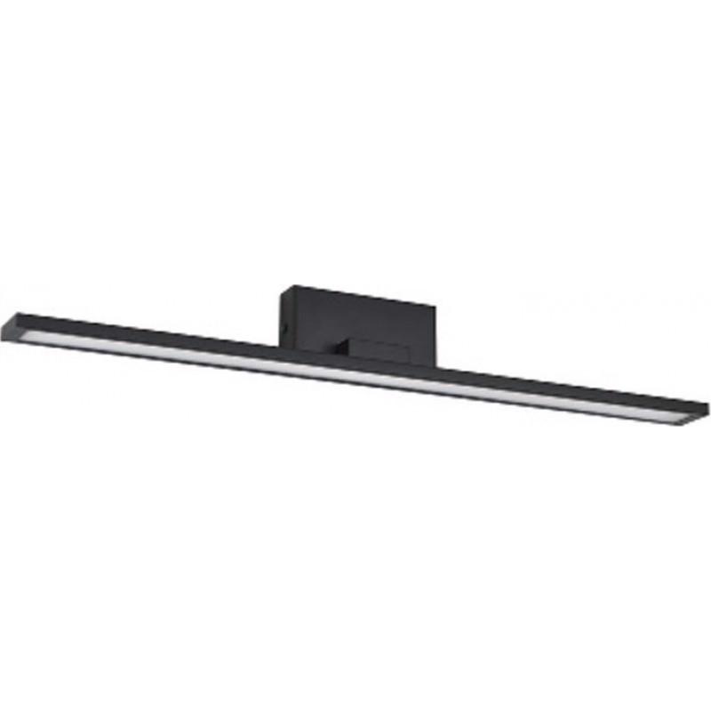 ACA Φωτιστικό Οροφής Μεταλλικό 'Chloe' Μαύρο LED 1040Lm/3000Κ 56Χ7Χ7cm PN19LEDW56BK