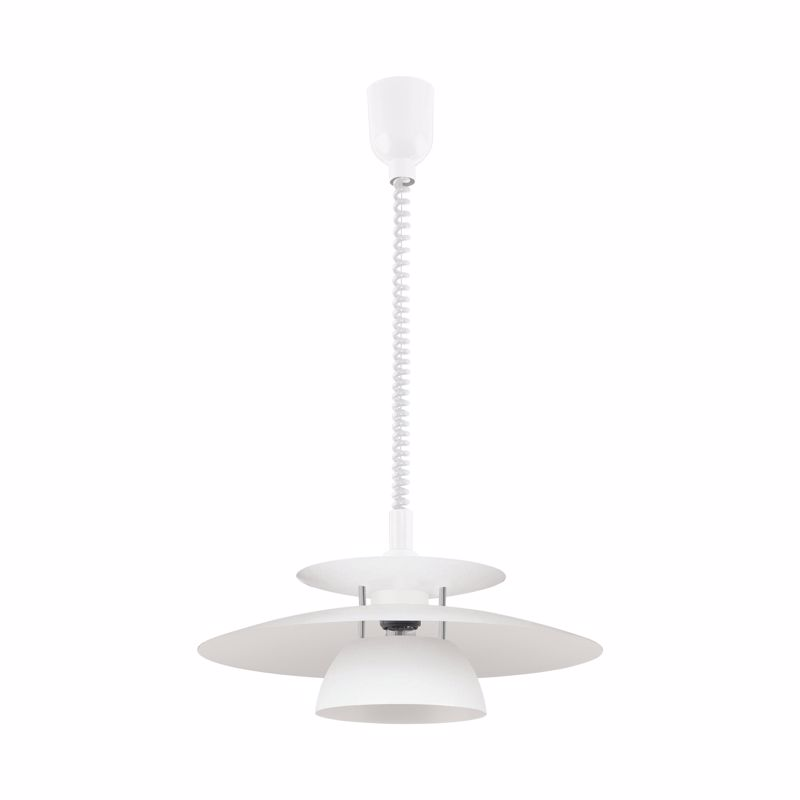 Eglo Φωτιστικό Οροφής Μεταλλικό/Πλαστικό 'BRENDA' Λευκό Ε27 43X130cm 87055