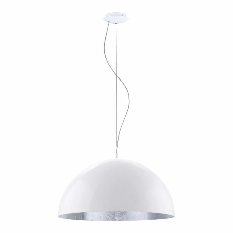 Eglo Φωτιστικό Οροφής Μεταλλικό 'GAETANO 1' Λευκό/Ασημί Ε27 53Χ150cm 94941