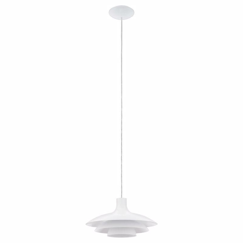 Eglo Φωτιστικό Οροφής Μεταλλικό 'ALMOZAR' Λευκό Ε27 35,5X110cm 96875