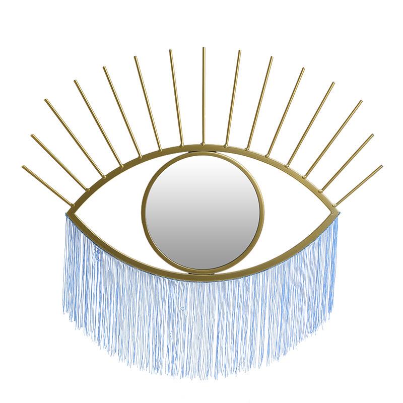 INART ΚΑΘΡΕΠΤΗΣ ΤΟΙΧΟΥ ΜΑΤΙ ΜΕΤΑΛΛΙΚΟΣ ΧΡΥΣΟΣ 55Χ2Χ34 3-95-739-0002