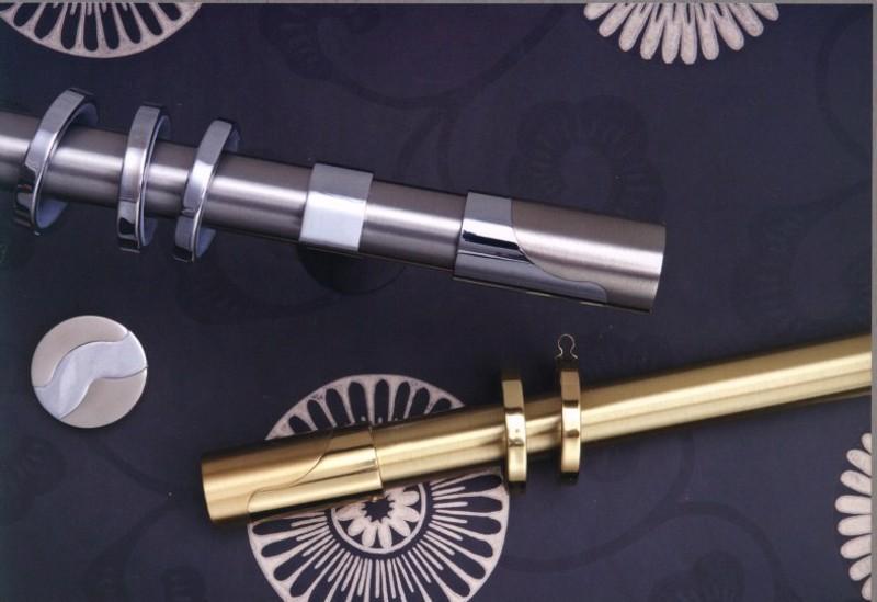 Κουρτινόξυλο Imperial φ30 χρυσό by Aslanis
