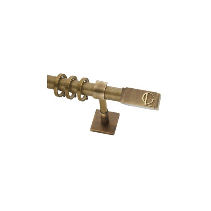 Κουρτινόξυλο Absolute φ25 bronze by Guy Laroche