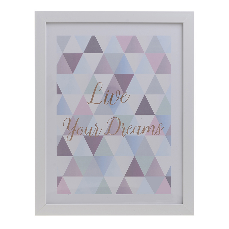 INART ΠΙΝΑΚΑΣ PRINTED LIVE YOUR DREAMS 28X35 3-90-763-0074