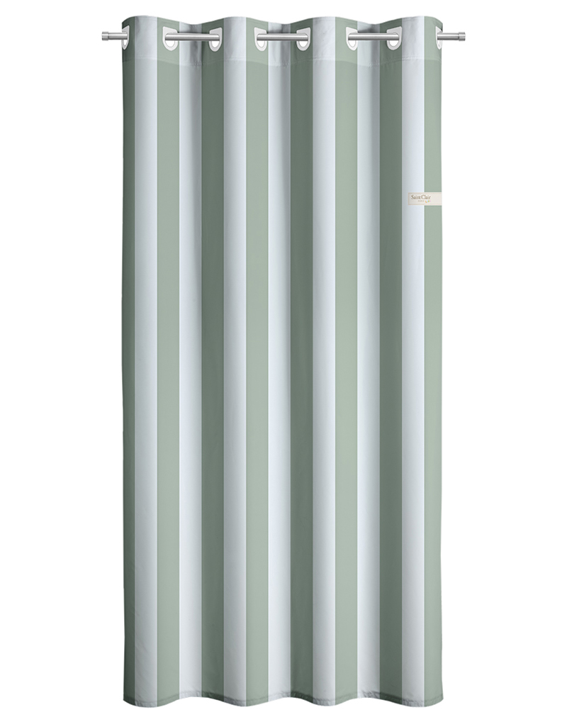 Saint Clair Κουρτίνα Sky Green Stripes 160×240