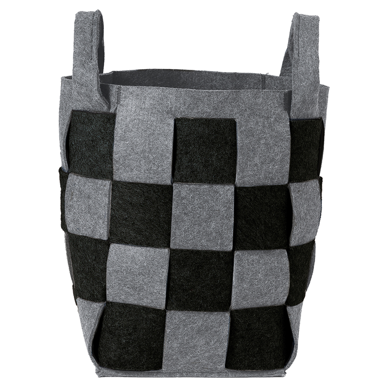 Καλάθι Απλύτων Weave Black 30X30X46 SealSkin