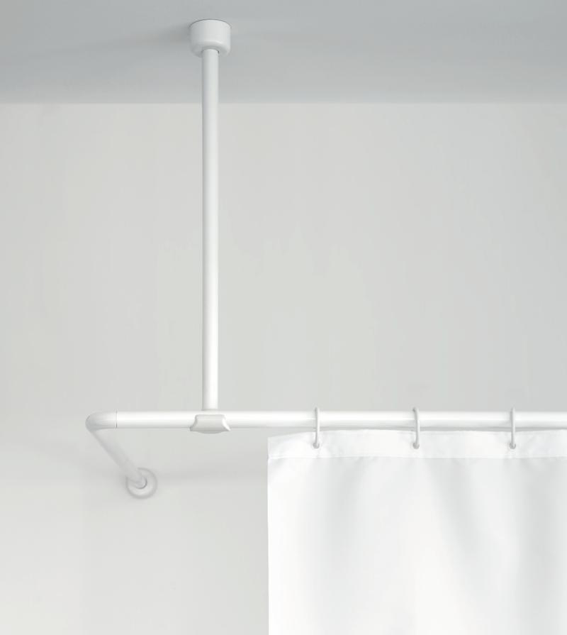 Στήριγμα οροφής για γωνιακό βραχίονα μπάνιου