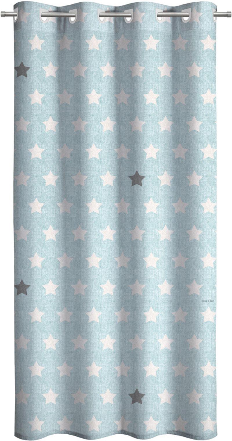 Saint Clair Κουρτίνα Soft 160×240 Pirineo Blue