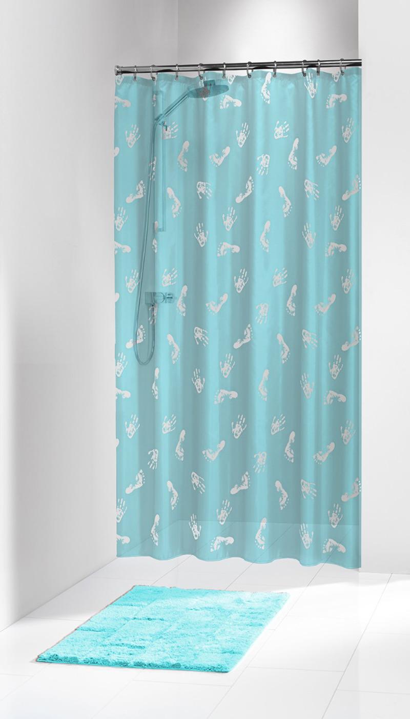 Πλαστική Κουρτίνα Μπάνιου Amy Turqoise 180X200 SealSkin