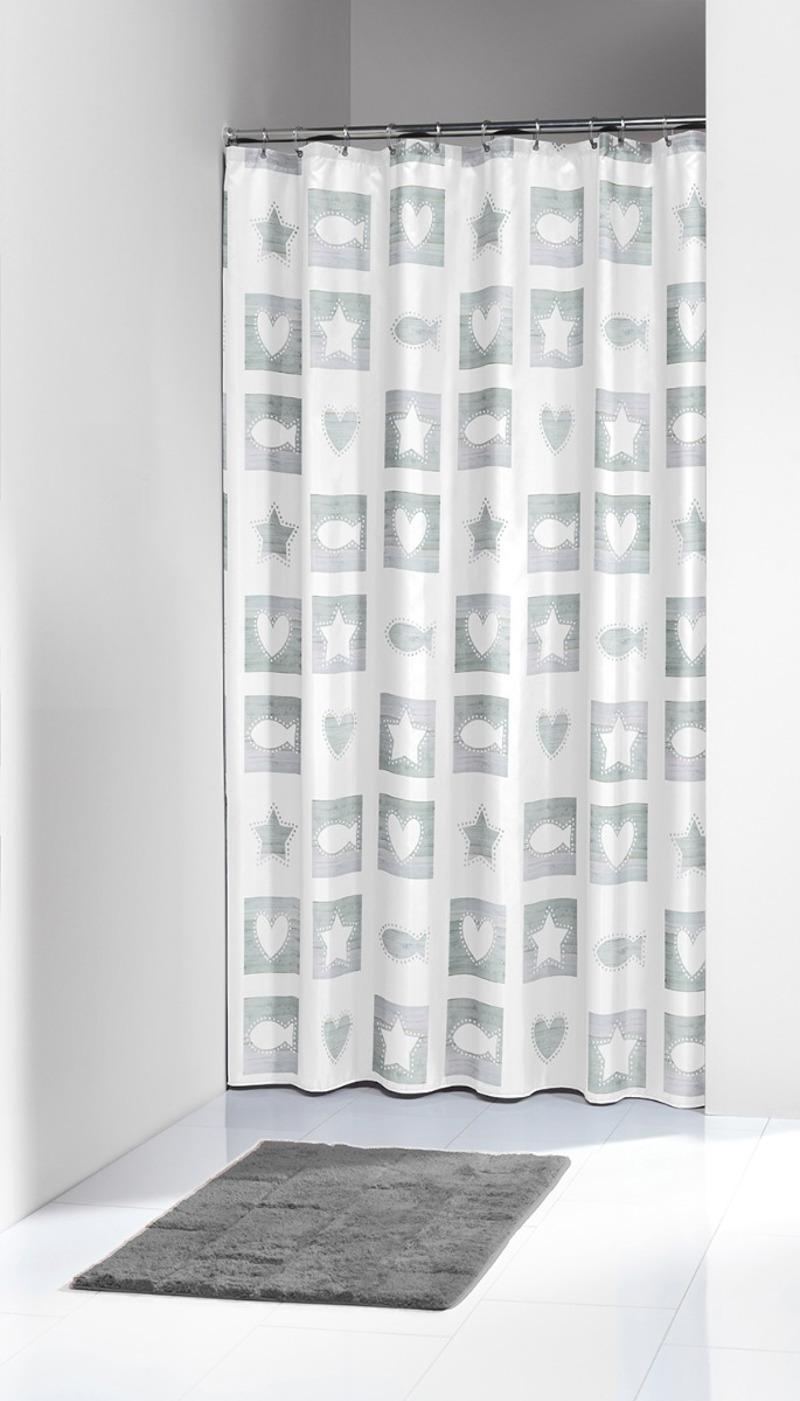 Πλαστική Κουρτίνα Μπάνιου Chalk Sand 180X200 SealSkin