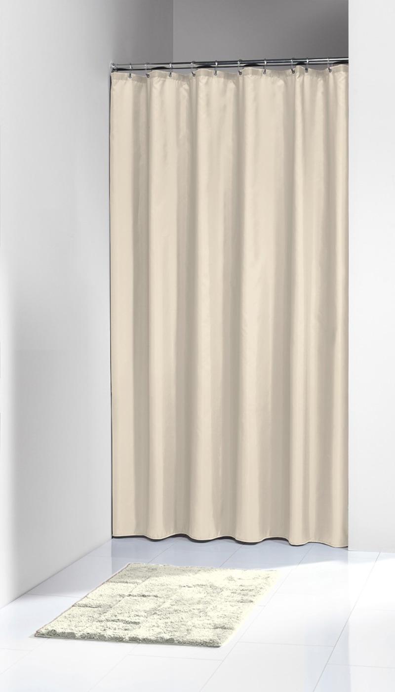 Πλαστική Κουρτίνα Μπάνιου Granada Beige 120X200 SealSkin