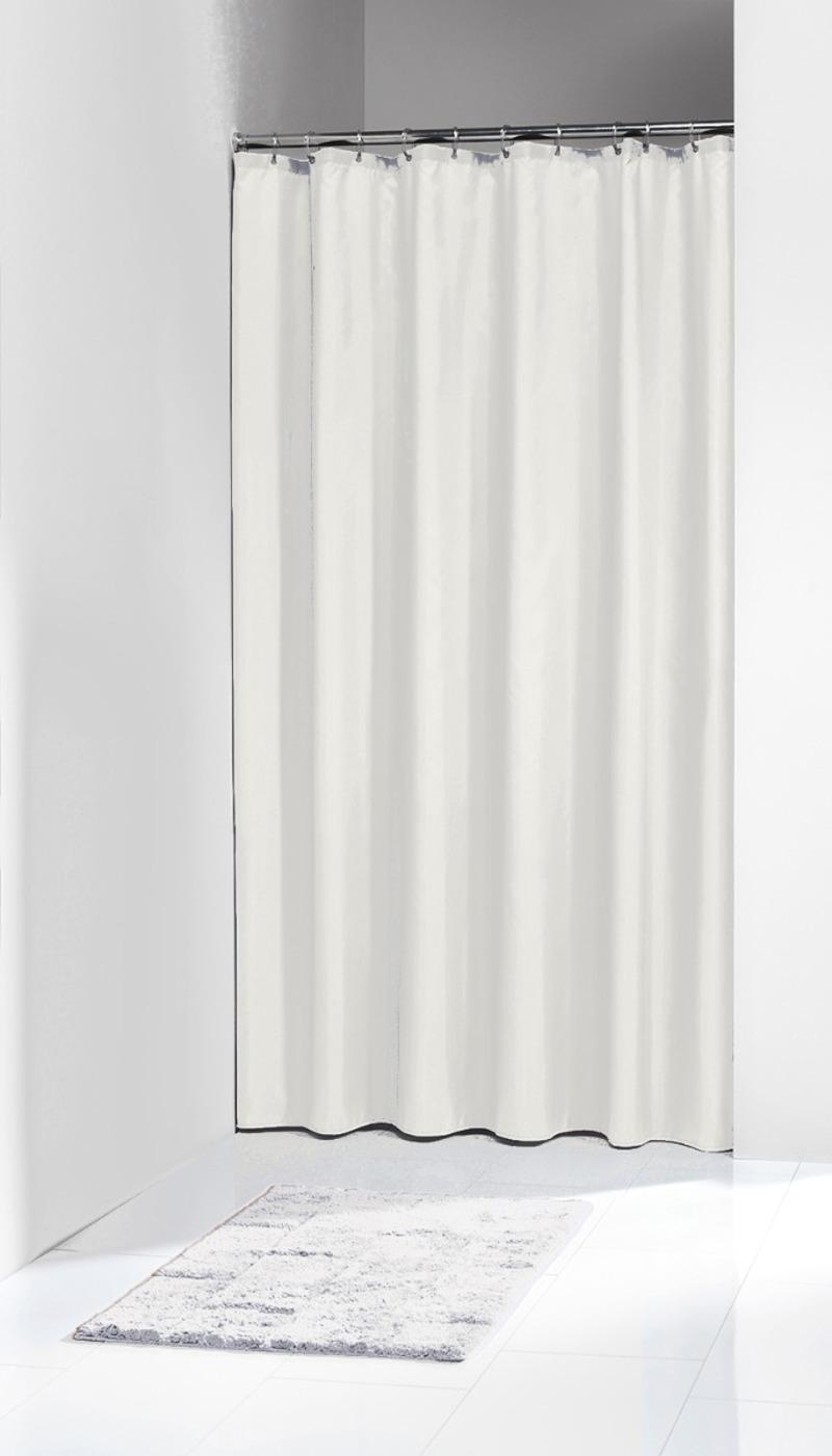 Πλαστική Κουρτίνα Μπάνιου Granada White 120Χ200 SealSkin