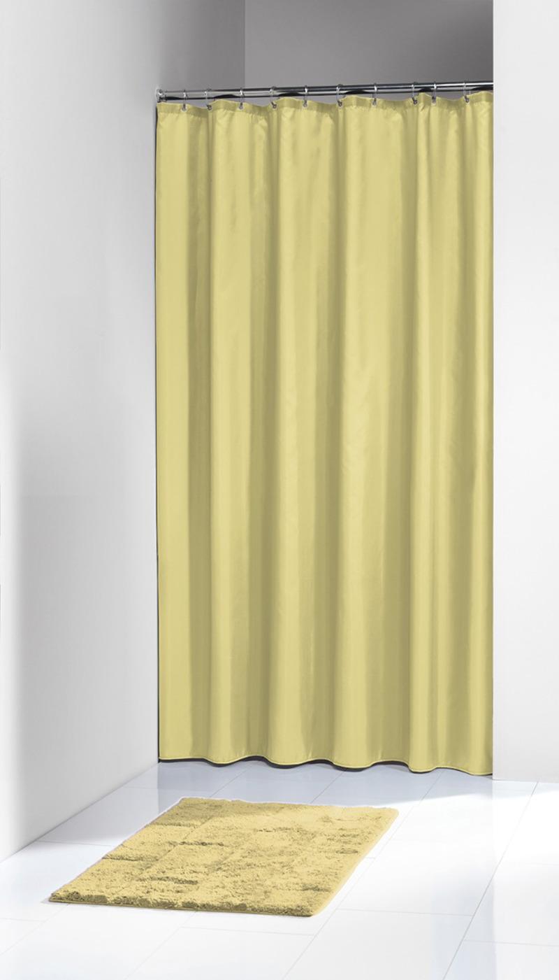 Πλαστική Κουρτίνα Μπάνιου Granada Yellow 180Χ200 SealSkin