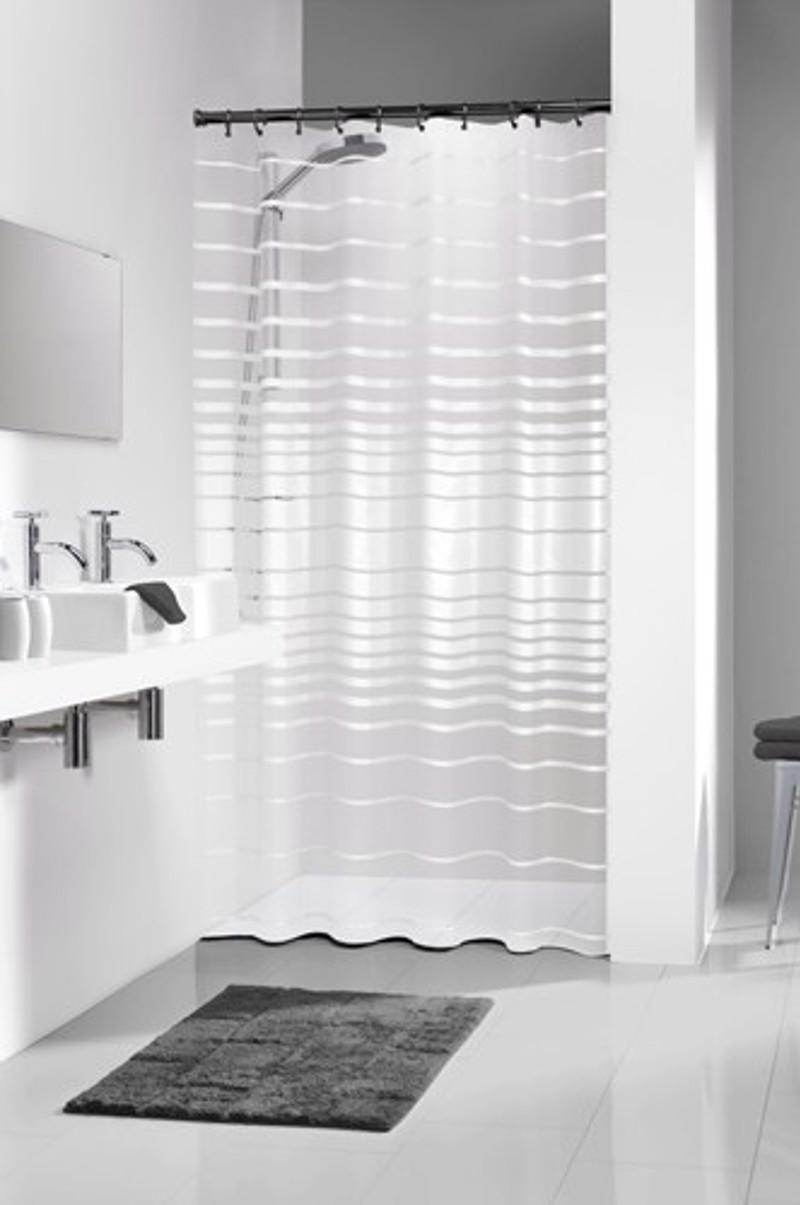 Διάφανη Κουρτίνα μπάνιου sealskin Screen white 1.80×2.00