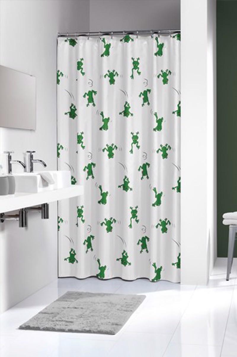 Πλαστική Κουρτίνα μπάνιου sealskin Freddy green 1.80×2.00