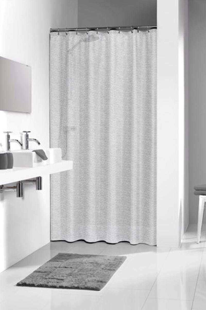 Διάφανη Κουρτίνα μπάνιου Perle 180×200 sealskin