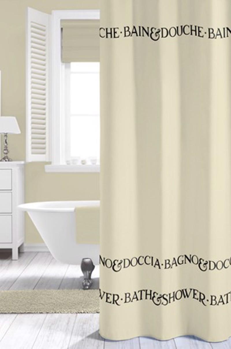 Υφασμάτινη Κουρτίνα μπάνιου sealskin Bath&Shower 1.80X2.00