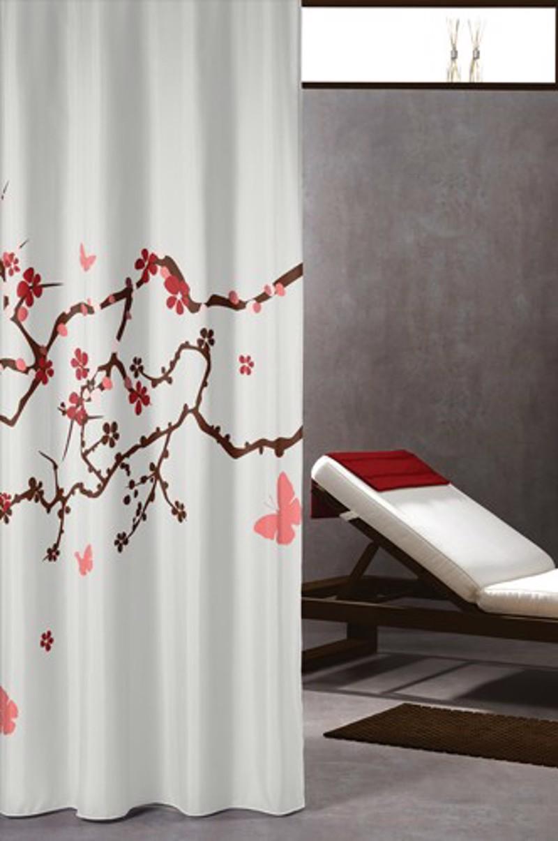 Υφασμάτινη Κουρτίνα μπάνιου sealskin Blossom multi color 1.80×2.00