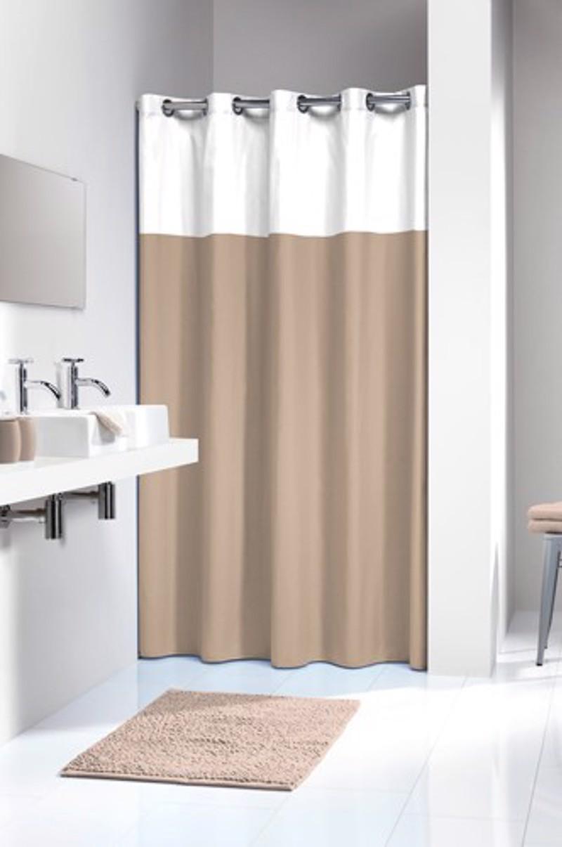 Υφασμάτινη Κουρτίνα μπάνιου sealskin Double linen 180×200
