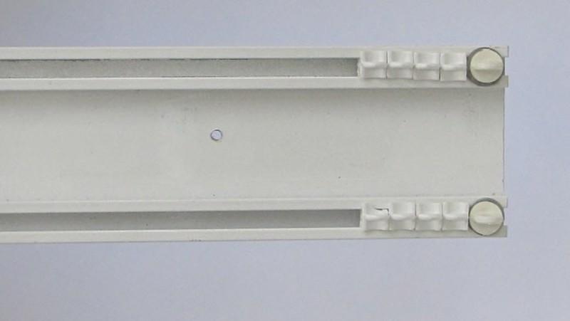 Σιδηρόδρομος κουρτίνας διπλός δανίας 6cm