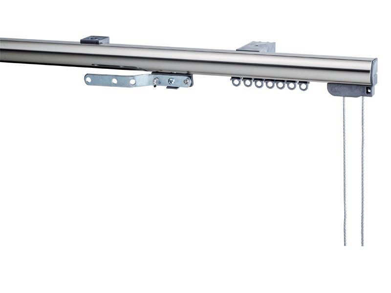 Σιδηρόρομος oval μηχανισμός νίκελ ματ – ασημί