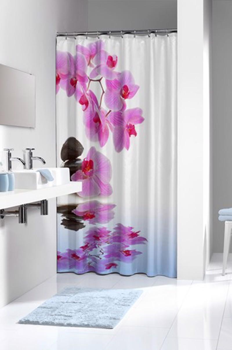 Υφασμάτινη Κουρτίνα μπάνιου sealskin Spa pink 1.80×2.00