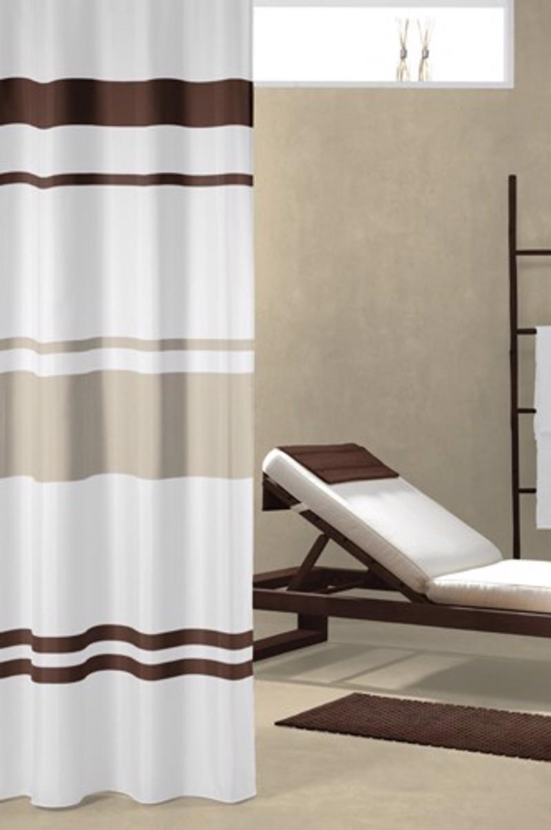 Υφασμάτινη Κουρτίνα μπάνιου sealskin Urban brown 1.80×2.00