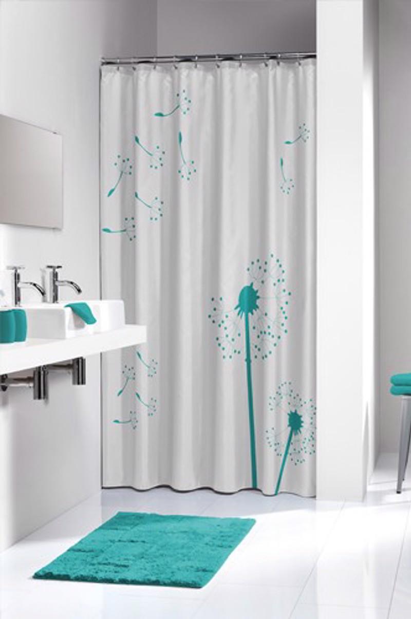 Υφασμάτινη Κουρτίνα μπάνιου sealskin Vento aqua 1.80×2.00