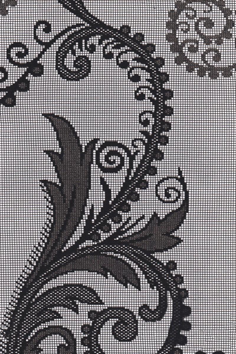 Ρόλερ 10.B(101).10 λουλούδι μαύρο διάτρητο