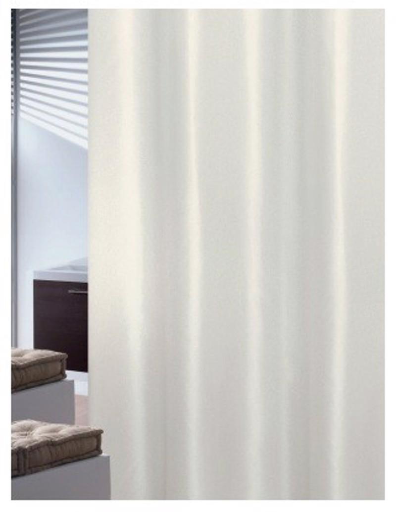 Υφασμάτινη Κουρτίνα Μπάνιου Joy 0018 Plain Εκρού 1.80×2.00