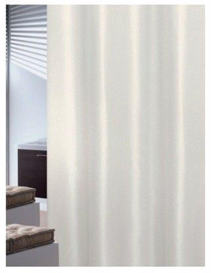 Υφασμάτινη Κουρτίνα Μπάνιου Joy 0018 Plain Εκρού 240Χ200