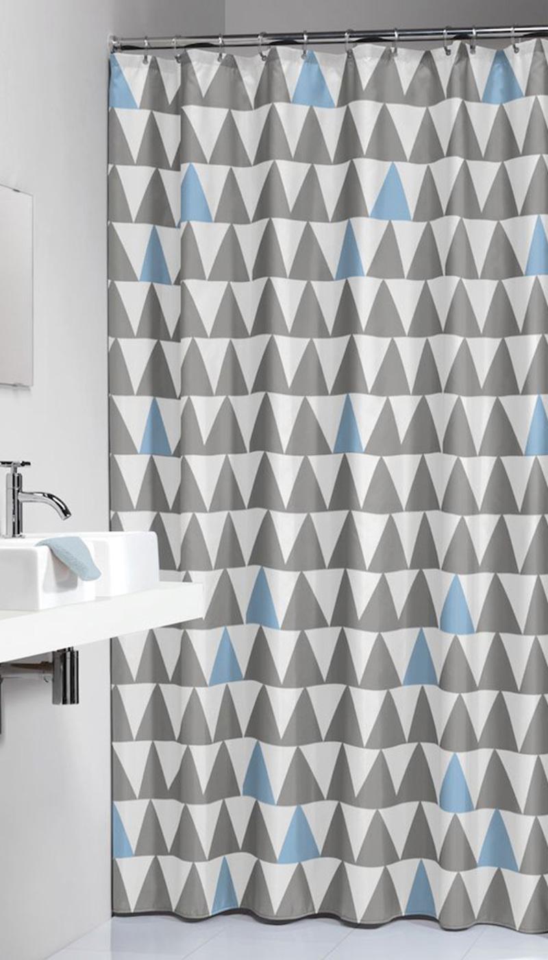 Πλαστική Κουρτίνα μπάνιου Nordic Light Blue 180X200 SealSkin