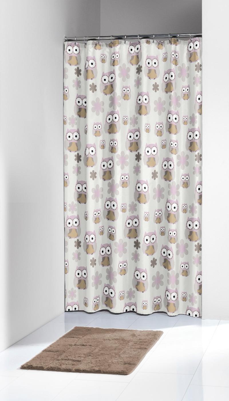Πλαστική Κουρτίνα μπάνιου Owl Sand 180X200 SealSkin