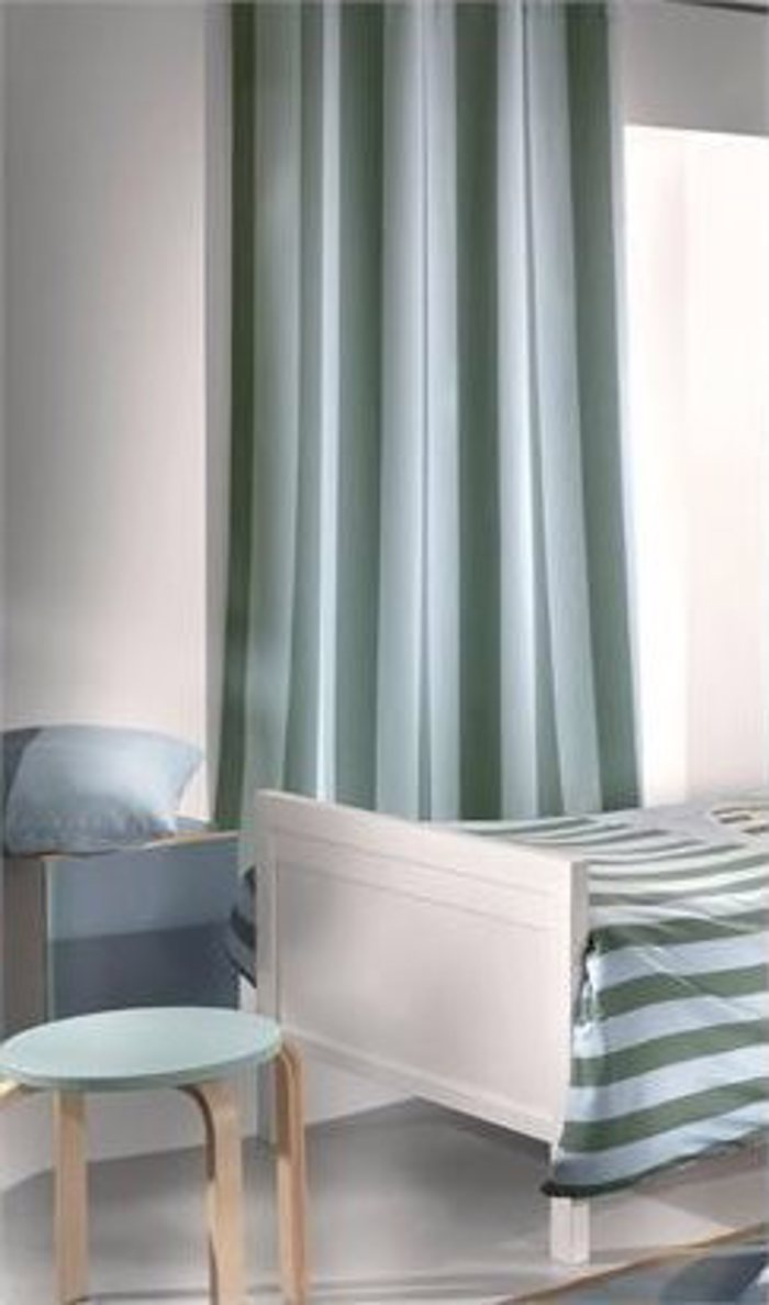 Saint Clair Kourtina Sky Green Stripes 160x240