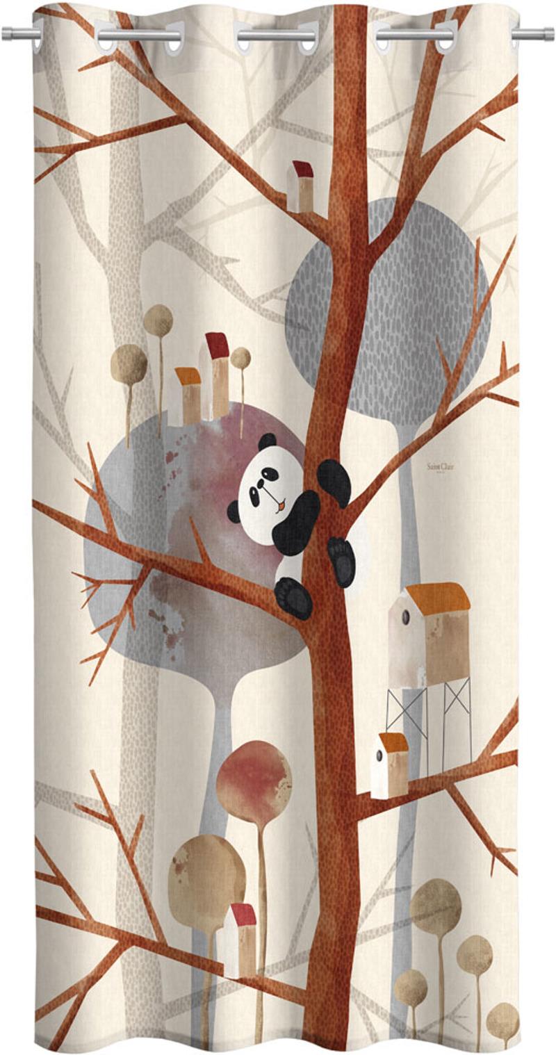 Saint Clair Κουρτίνα Soft-Touch Panda 160×240