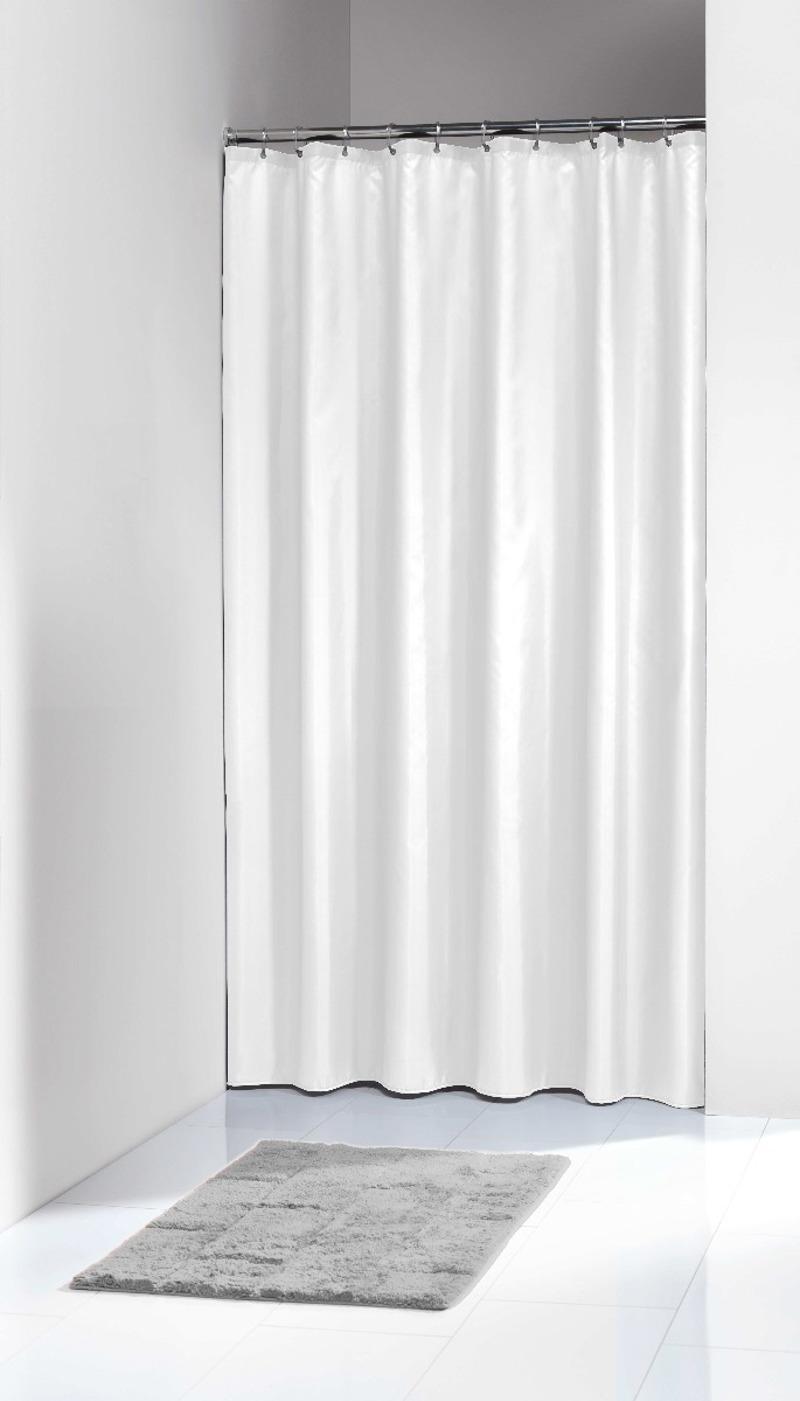 Υφασμάτινη Κουρτίνα Μπάνιου Solid White 180X200 SealSkin
