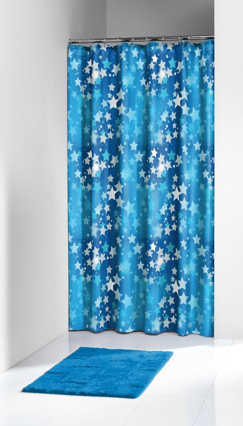 Πλαστική Κουρτίνα Μπάνιου Starry Sky Blue 180X200 SealSkin
