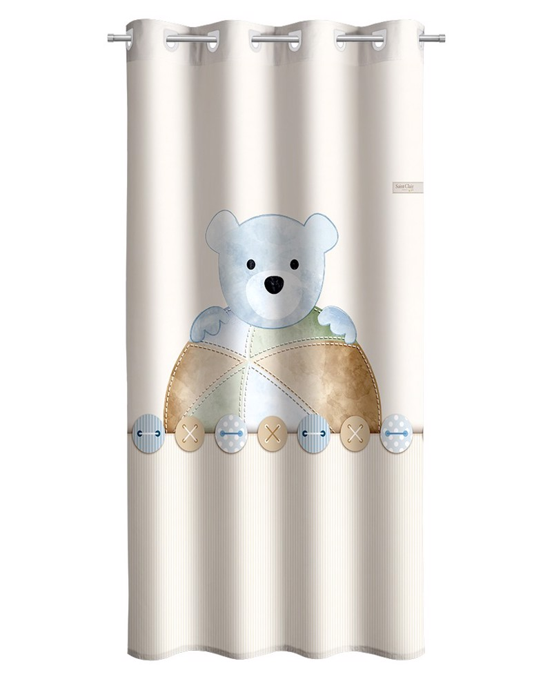 Saint Clair Κουρτίνα Teddy Sky 160X240